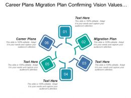 Career Plans Migration Plan Confirming Vision Values Behaviors