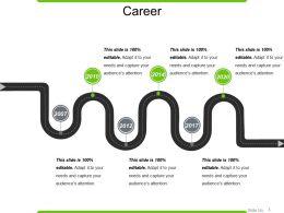 Career Powerpoint Graphics