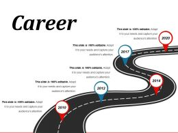 Career Powerpoint Slide Templates Download