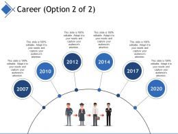 Career Ppt Inspiration Design Inspiration