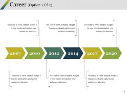 Career Ppt Styles Graphic Images
