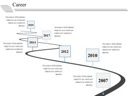 Career Ppt Summary Structure