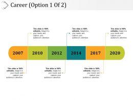 Career Presentation Powerpoint