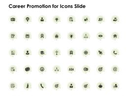 Career Promotion For Icons Slide Checklist Management C584 Ppt Powerpoint Presentation Gallery Show