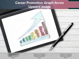 Career Promotion Graph Arrow Upward Image