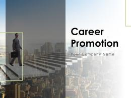 Career Promotion Powerpoint Presentation Slides
