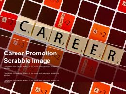 Career Promotion Scrabble Image