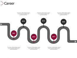 Career Roadmap D293 Ppt Powerpoint Presentation Infographics Inspiration