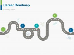 Career Roadmap Powerpoint Presentation Slides