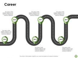 Career Roadmap Ppt Powerpoint Presentation Pictures Infographic Template