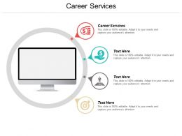 Career Services Ppt Powerpoint Presentation Layouts Slideshow Cpb