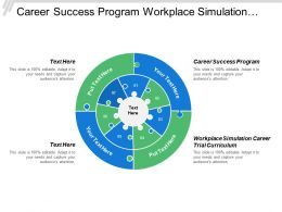 Career Success Program Workplace Simulation Career Trial Curriculum