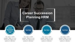 Career Succession Planning HRM Ppt Powerpoint Presentation Layouts Slideshow Cpb