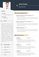 Career Summary Example Resume CV Template