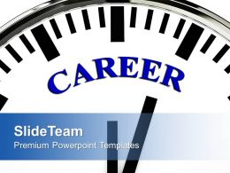 Career Time Future Youth Powerpoint Templates Ppt Themes And Graphics 0113