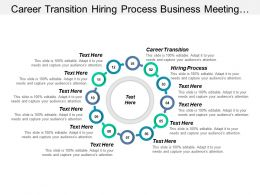 Career Transition Hiring Process Business Meeting Management System Cpb