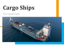 Cargo Ships Container Containing Gantry Unloading Material