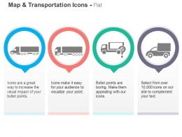Cargo Truck Shipping Product Ppt Icons Graphics