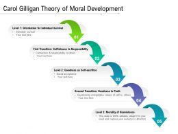 Carol Gilligan Theory Of Moral Development