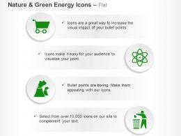 Cart Nuclear Energy Symbol Waste Management Ppt Icons Graphics