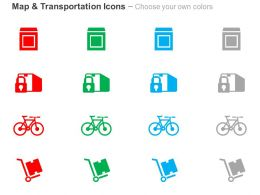 carton_lock_cycle_transportation_ppt_icons_graphics_Slide02