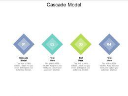 Cascade Model Ppt Powerpoint Presentation Model Skills Cpb