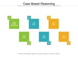 Case Based Reasoning Ppt Powerpoint Presentation Background Designs Cpb