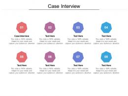 Case Interview Ppt Powerpoint Presentation Outline Model Cpb