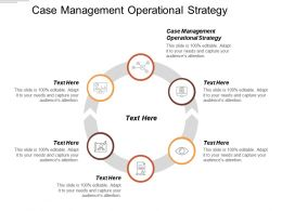 Case Management Operational Strategy Ppt Powerpoint Presentation File Visual Aids Cpb