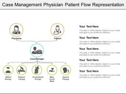 Case Management Physician Patient Flow Representation