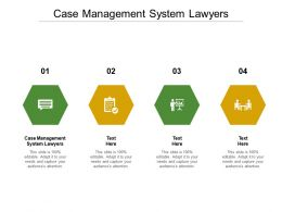 Case Management System Lawyers Ppt Powerpoint Presentation Icon Graphics Example Cpb