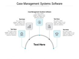 Case Management Systems Software Ppt Powerpoint Presentation Icon Shapes Cpb