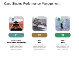 Case Studies Performance Management Ppt Powerpoint Presentation Model Example Cpb