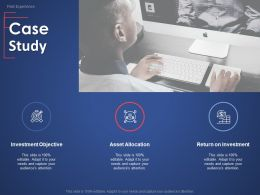 Case Study Asset Allocation Ppt Powerpoint Presentation Slides Influencers