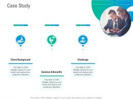 Case Study Business Outline Ppt Diagrams