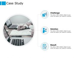 Case Study Challenge Ppt Powerpoint Presentation Outline Layout Ideas