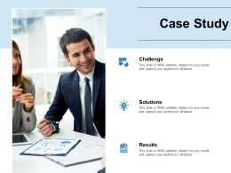 Case Study Challenge Ppt Powerpoint Presentation Outline Professional