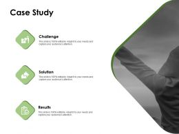 Case Study Challenge Ppt Powerpoint Presentation Pictures Professional
