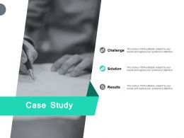 Case Study Challenge Solution Ppt Powerpoint Presentation Pictures Background