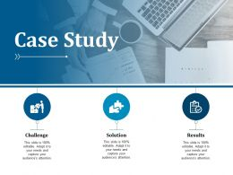 Case Study Challenge Solution Results Ppt Visual Aids Professional