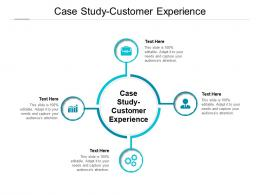 Case Study Customer Experience Ppt Powerpoint Presentation Styles Themes Cpb