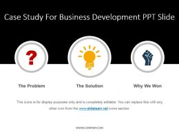 Case Study For Business Development Ppt Slide