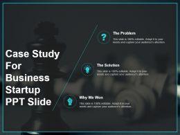 Case Study For Business Startup Ppt Slide