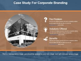 Case Study For Corporate Branding Powerpoint Template Design