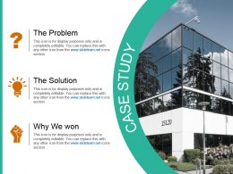 Case Study For Corporate Strategy Ppt Template