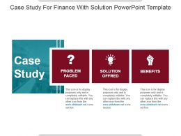 Case Study For Finance With Solution Powerpoint Template