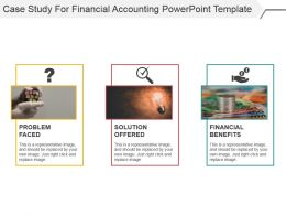 Case Study For Financial Accounting Powerpoint Template
