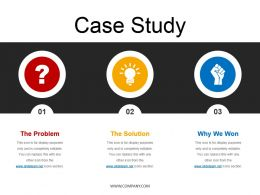 Case Study For Financial Management Powerpoint Template