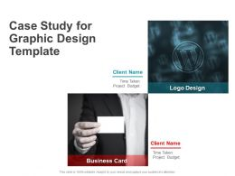 Case Study For Graphic Design Template Ppt Powerpoint Presentation Icon Grid