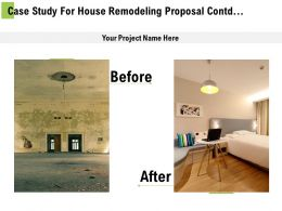 Case Study For House Remodeling Proposal Contd Ppt Powerpoint Presentation Shapes